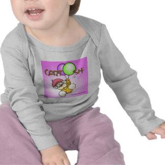 flys giggleCubby de rosa Camiseta
