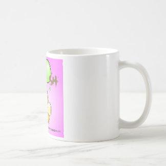 flys giggleCubby de (rosa) Taza De Café