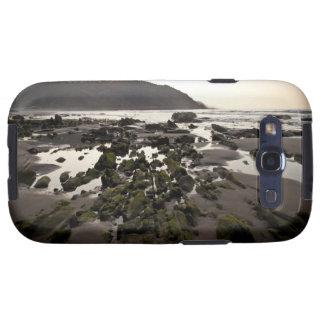 Flysch en la costa de Deba, Guipuzcoa, vasco Galaxy SIII Coberturas