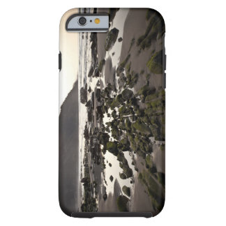Flysch en la costa de Deba, Guipuzcoa, vasco Funda De iPhone 6 Tough