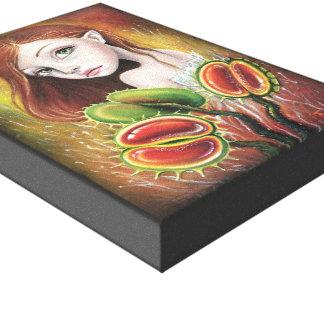 Flytrap Child Canvas Print