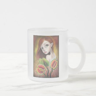 Flytrap Child Frosted Glass Coffee Mug