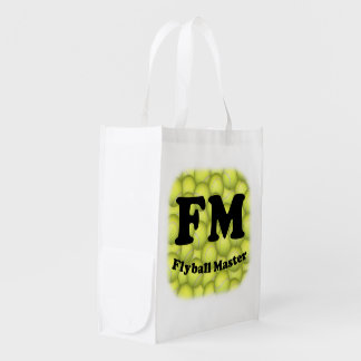 FM, Flyball Master Grocery Bag