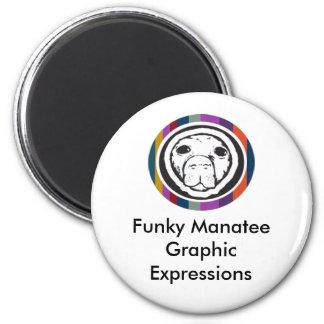 FM logo tagline Button Magnet