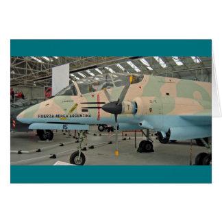 FMA IA 58 Pucará aircraft Card