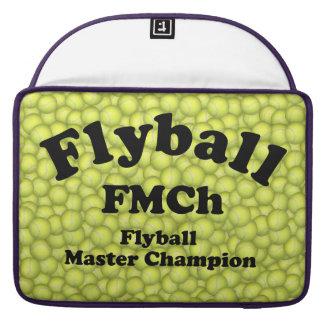 FMCh, Flyball Master Champion 15,000 Points MacBook Pro Sleeve