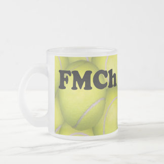 FMCh, Flyball Master Champion Frosted Coffee Mug