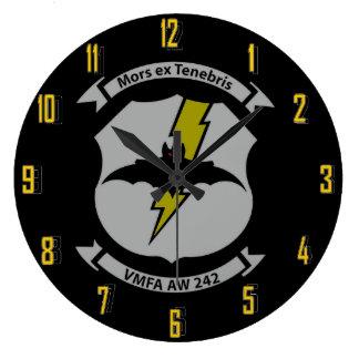 FMFA  AW 242     BATS WALL CLOCKS