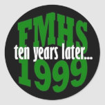 FMHS Class of '99 Reunion Stickers
