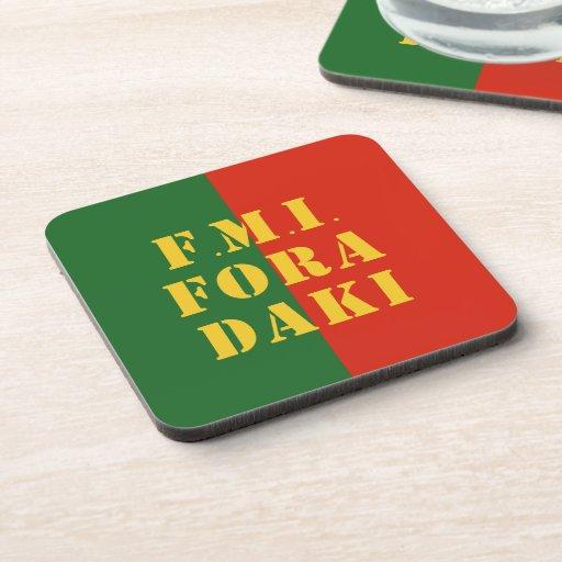 FMI Fora Daqui Beverage Coaster