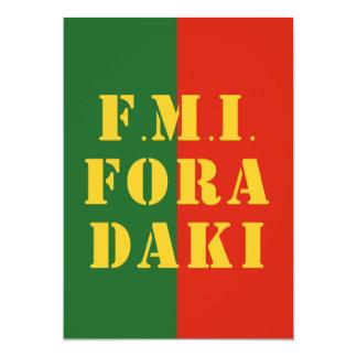 FMI Fora Daqui Card