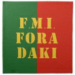FMI Fora Daqui Cloth Napkins