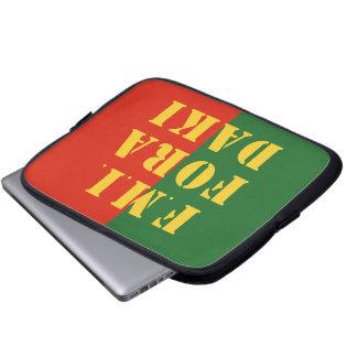 FMI Fora Daqui Laptop Sleeves