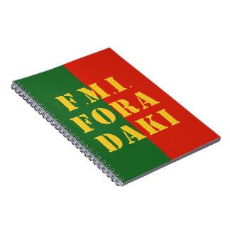 FMI Fora Daqui Spiral Notebook