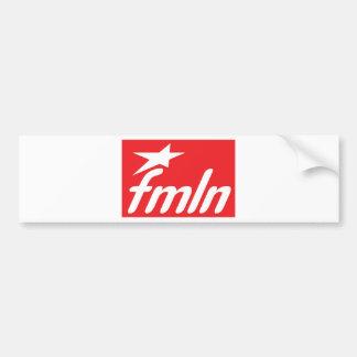 fmln el salvador bumper sticker