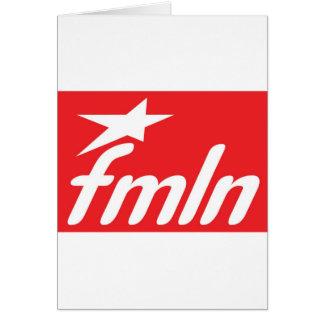 fmln El Salvador Tarjeta De Felicitación