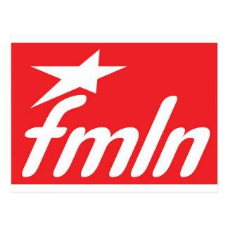 fmln El Salvador Tarjeta Postal