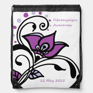 FMS Awareness 2015 Drawstring Bag