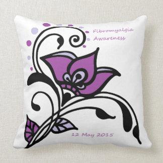 FMS Awareness 2015 Throw Pillows
