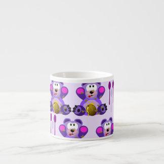 FMS Honey Bear with Spoons Espresso Mugs