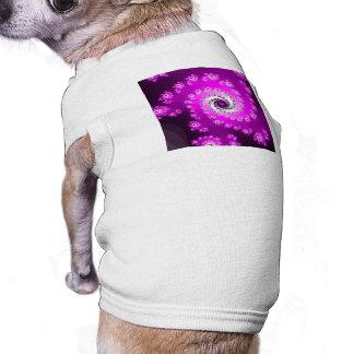 FMS Spiral Fractal Dog Tshirt
