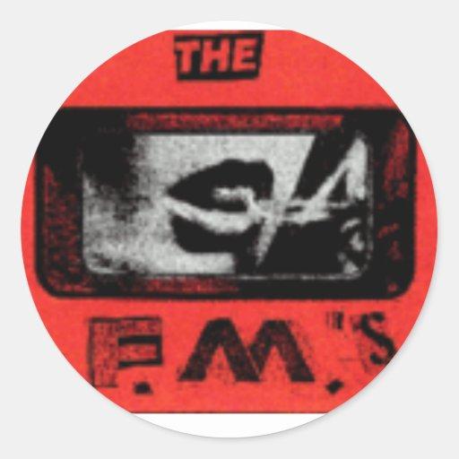 FMs Sticker