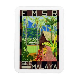 FMSR See Malaya Rectangle Magnet