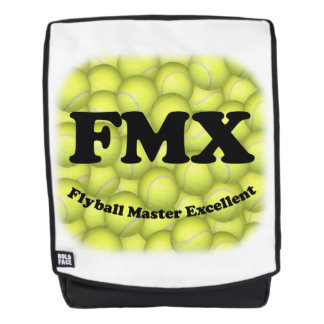 FMX, Flyball Master Excellent 10,000 Points Backpack