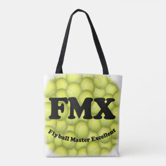 FMX, Flyball Master Excellent 10,000 Points Tote Bag