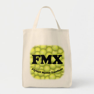 FMX, Flyball Master Excellent Organic Grocery Tote