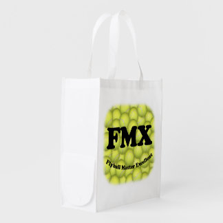 FMX, Flyball Master Excellent Reusable Grocery Bag