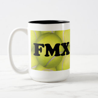 FMX, Flyball Master Excellent Two-tone Mug