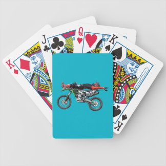 FMX - Freestyle Aerial Motocross Stunt III Bicycle Playing Cards