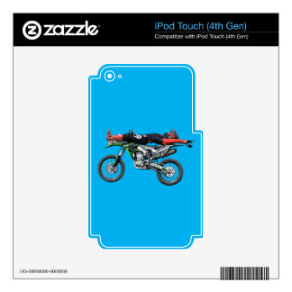 FMX - Freestyle Aerial Motocross Stunt III Decal For iPod Touch 4G
