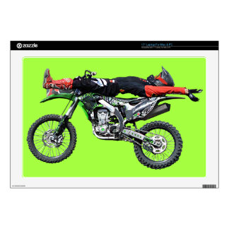 "FMX - Freestyle Aerial Motocross Stunt III Decals For 17"" Laptops"