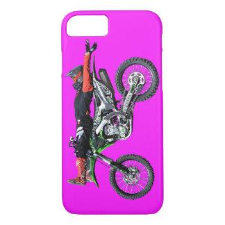 FMX - Freestyle Aerial Motocross Stunt III iPhone 7 Case