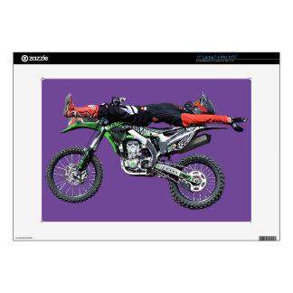 FMX - Freestyle Aerial Motocross Stunt III Laptop Decals