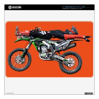 FMX - Freestyle Aerial Motocross Stunt III MacBook Decal
