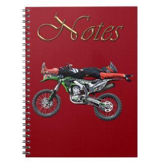 FMX - Freestyle Aerial Motocross Stunt III Notebook