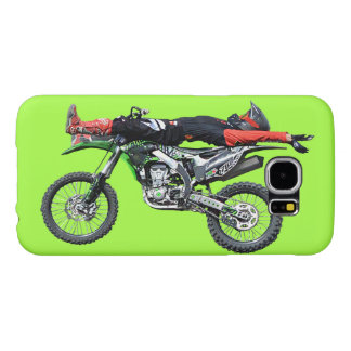 FMX - Freestyle Aerial Motocross Stunt III Samsung Galaxy S6 Case