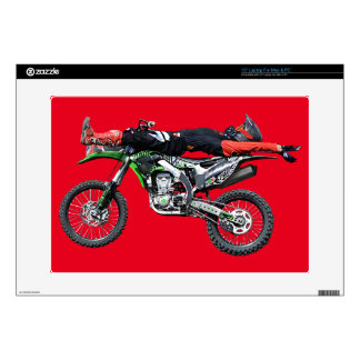 "FMX - Freestyle Aerial Motocross Stunt III Skin For 15"" Laptop"