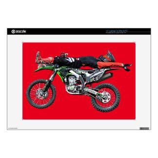 "FMX - Freestyle Aerial Motocross Stunt III Skin For 15"" Laptop"