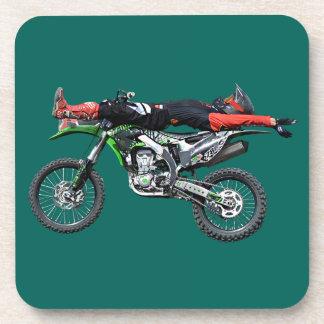 FMX - Truco aéreo III del motocrós del estilo Posavasos De Bebidas