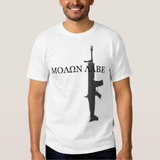 FN SCAR MK 16 - MOLON LABE TEE SHIRT