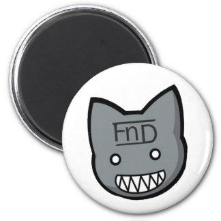 FnD Freaky Kittie Fridge Magnet