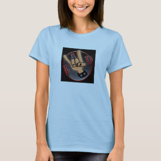 FnD horns Logo Ladies T-Shirt