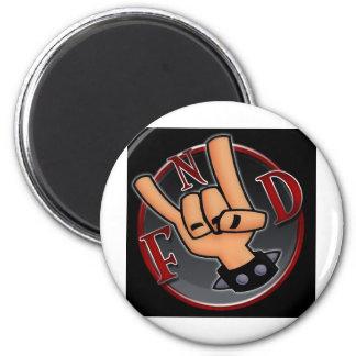 FnD Horns 2 Inch Round Magnet