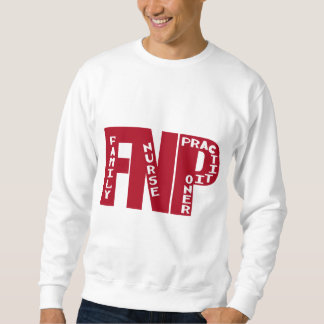 FNP Big Red Family Nurse Practitioner Gifts Sweatshirt
