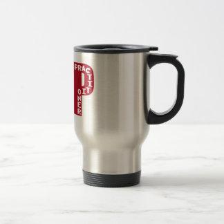 FNP Big Red Family Nurse Practitioner Gifts Travel Mug