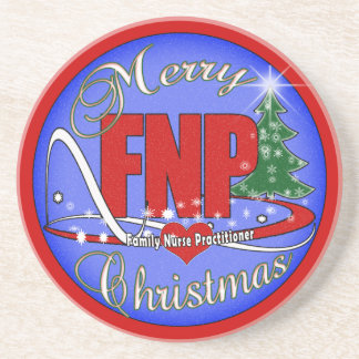 FNP CHRISTMAS COASTERS FAMILY NURSE PRACTITIONER